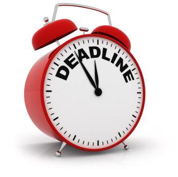 any paper deadline